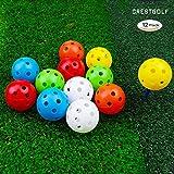 Crestgolf Bolas Golf Prácticas plástico