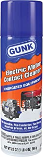 Gunk NM1 One Each, 20 oz. Electric Motor Contact Cleaner