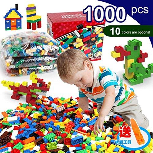 HongXander 1000PCS Building Blocks Creative Bricks DIY Toy Educational Building Block Gift