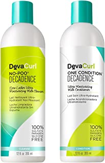 DevaCurl No-Poo Decadence & One Condition Decadence Duo - 12 oz