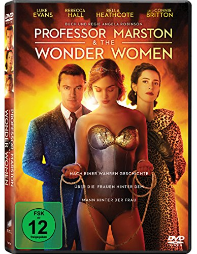 Professor Marston & the Wonder Women [Alemania] [DVD]