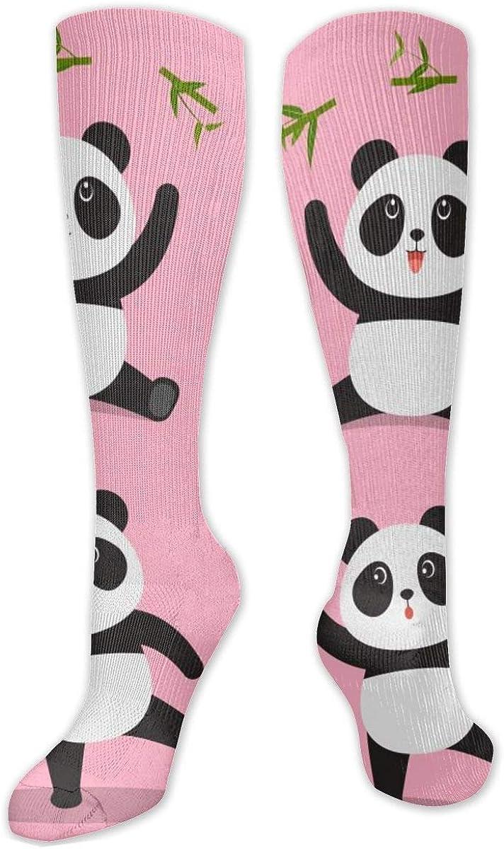 Panda Cute Knee High Socks Leg Warmer Dresses Long Boot Stockings For Womens Cosplay Daily Wear