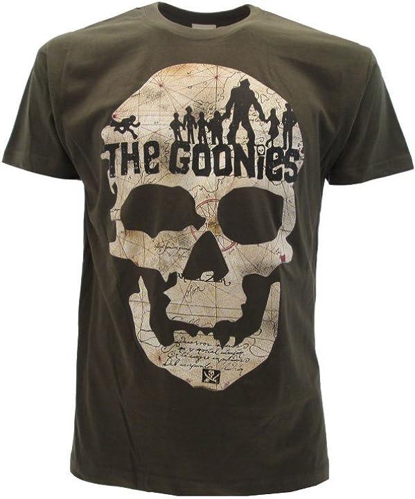 Maglietta the goonies t-shirt originale goonies film cult 1985 maglia maglietta B07DC2BPXX