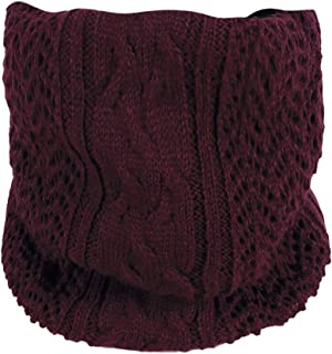 Promotions Women Men Knit Cotton Warm Soft Cowl Neck Mohair Scarf Shawl Winter Bandanas ODGear