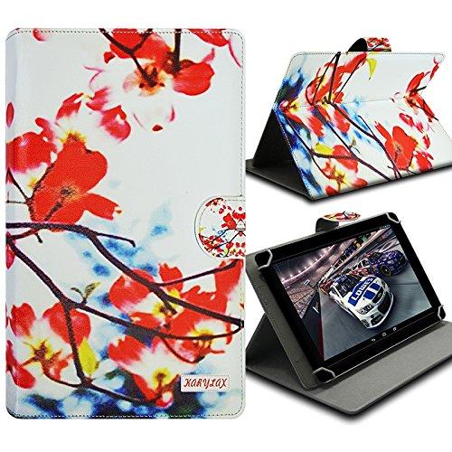 Karylax Schutzhülle Universal M Standfunktion Motiv KJ12 für Tablet HP Pro Tablet 608 G1 8 Zoll