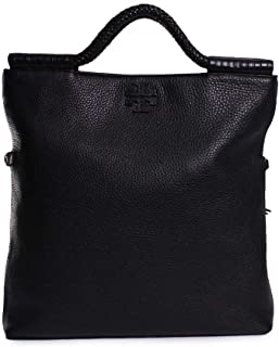 Taylor Convertible Foldover Crossbody in Black