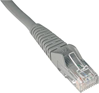 Tripp Lite N201005GY CAT6 Snagless Molded Patch Cable, 5 ft, Gray