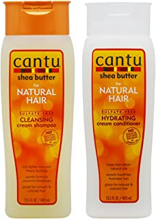 Cantu Shea Butter Cleansing Shampoo + Hydrating Conditioner 13.5oz