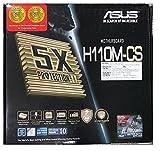 Asus H110M-CS Desktop 6th Generation Motherboard 5X Protection II LGA1151 DDR4 2133 D-Sub USB 3.0 sata 6Gbs Pci-E 16x COM Header LPT Header TPM Header