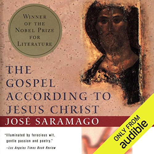 The Gospel According to Jesus Christ audiobook cover art