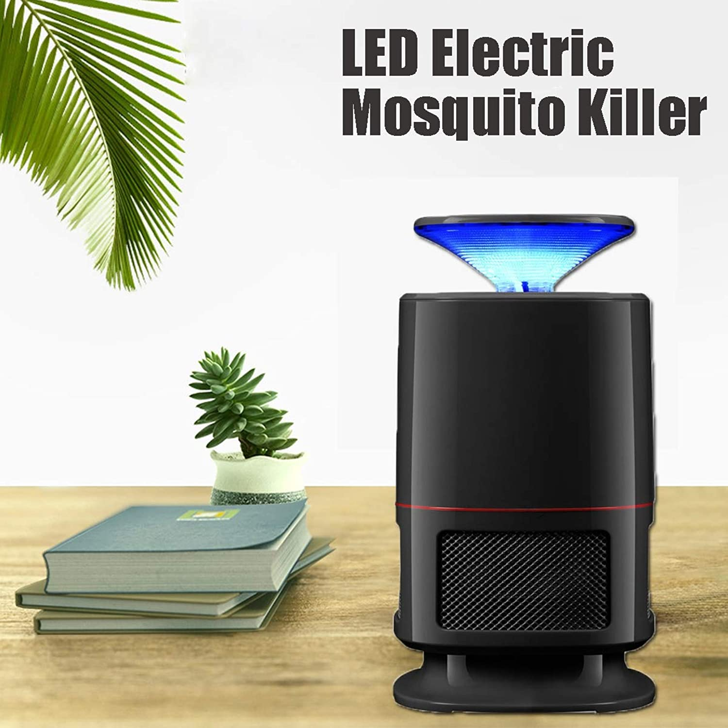 Optical Media LED Electric Mosquito Killer USB Fly Bug Zapper Lamp Light Bulb Traps Repellents Home Garden Pest Control Tools