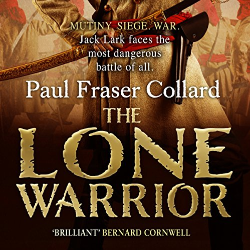 The Lone Warrior audiobook cover art