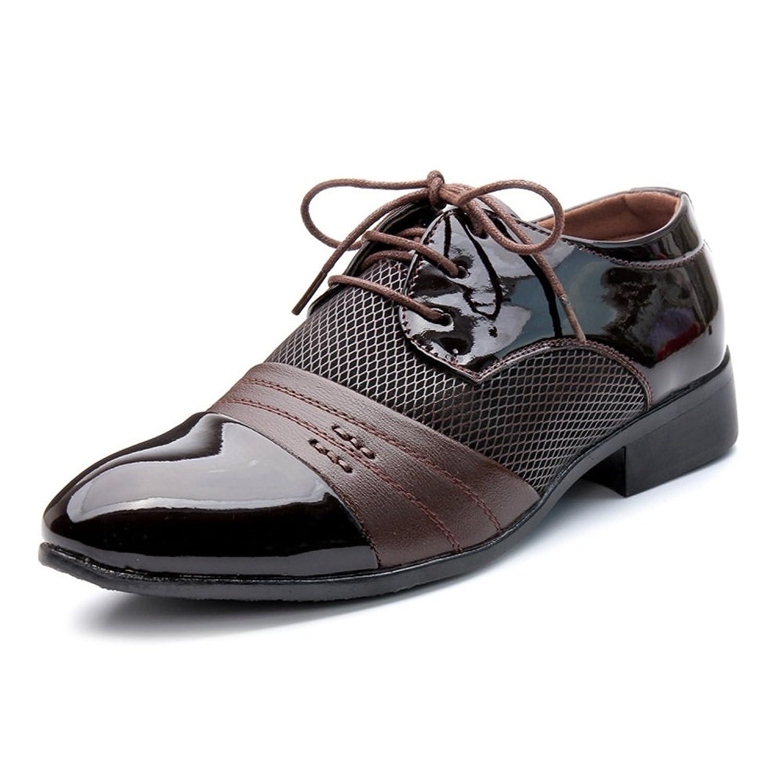 [MUMUWU] ビジネスシューズ レザー 革靴 クラシック 柔軟 メンズ 靴 紳士靴 ビジネスシューズ