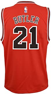 Jimmy Butler NBA Chicago Bulls Official Road Red Player Replica Youth Jersey