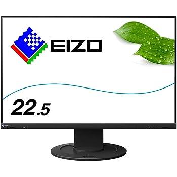 EIZO 22.5型フレームレスモニターFlexScan EV2360-BK(1920×1200/アンチグレアIPS/疲れ目軽減/ブラック/5年間保証)