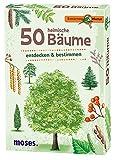 moses. Expedition Natur - 50 heimische Bäume | Bestimmungskarten im Set | Mit spannenden Quizfragen