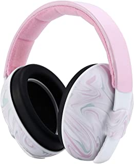 Mumba Baby Ear Protection - Adjustable Noise Cancelling Baby Headphones(0-3+ Years) - Baby Ear Muffs Noise Protection, for Sleeping, Airplane, Football Game, Concerts, Fireworks, Theater, Parade