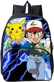 b1d5f45256256e Pokémon Pikachu Zaino Scuola Borse Leggero per Bambini Zaino Casual per  Ragazzi Adolescenti Ragazze Laptop Zaino