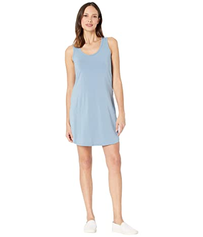 Mod-o-doc Tank Dress with Back Twist (Blue Shadow) Women