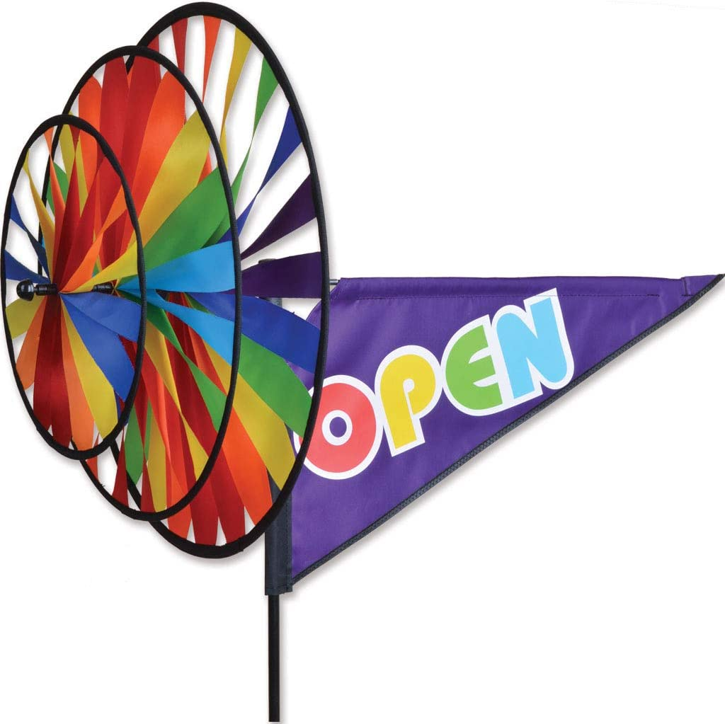 Premier Kites Triple Spinner - Ranking TOP5 Popular product Open Rainbow