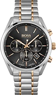 Hugo Boss Men's Analogue Quartz Watch with Stainless Steel Strap 1513819
