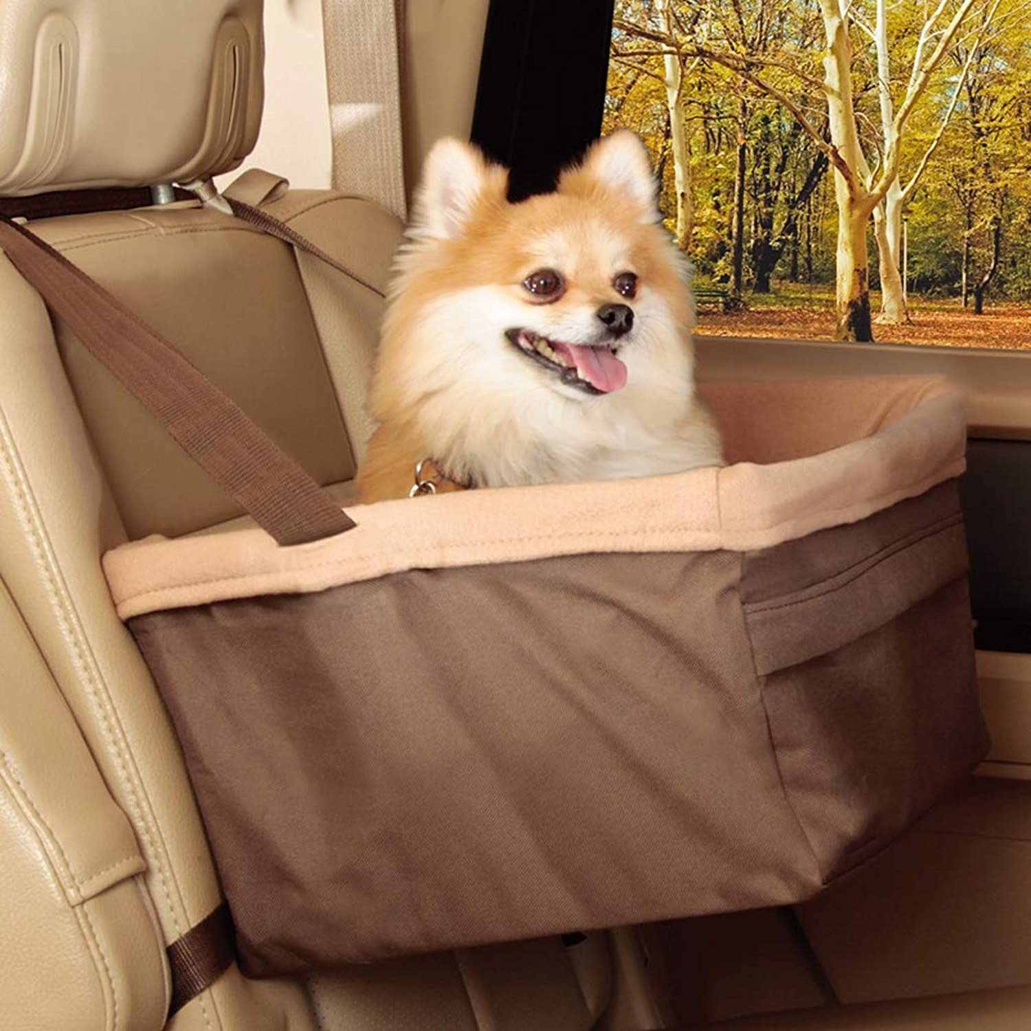 Pet Dog car mat Kennel car Rear Row Dog mat Safety seat Winter Autumn and Winter AntiDirty mat 35  30  20CM