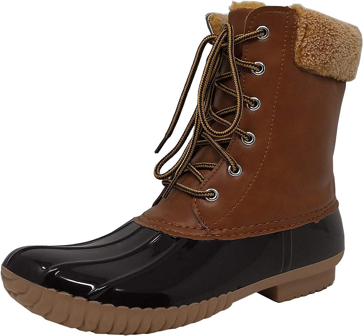 fazoc womens Rain Boots