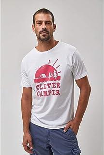 Camiseta Clever Camper - Branca