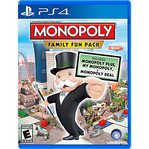 Ubisoft Monopoly Family Fun Pack, PS4 Básico PlayStation 4 ENG vídeo - Juego (PS4, PlayStation 4, Familia, Modo multijugador, E (para todos))