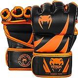 Venum Challenger MMA Gloves, Small, Black/Neo Orange