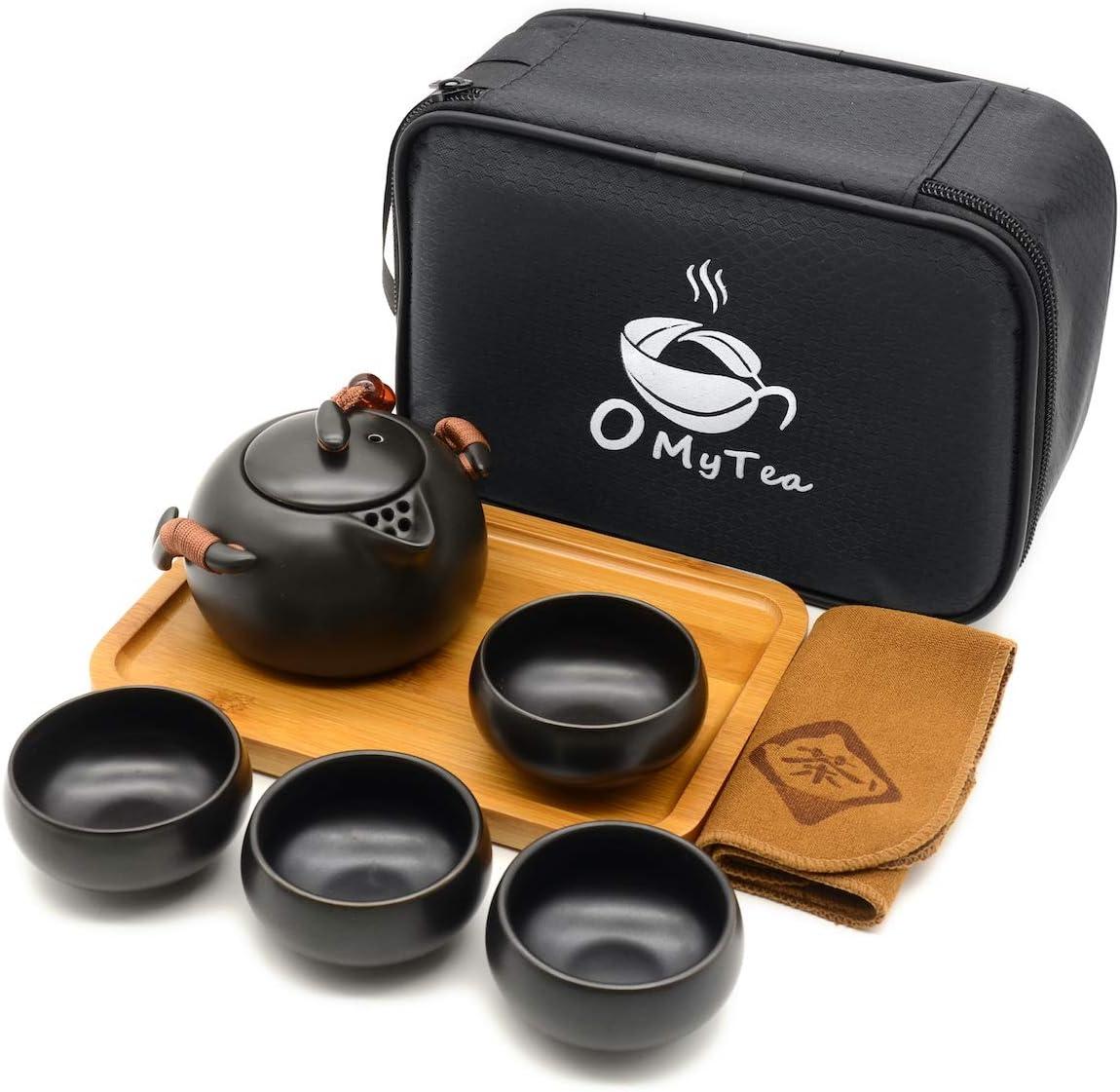 OMyTea Travel Japanese Tea Set - Max 78% OFF Asian Very popular Kung Po Chinese Fu Gongfu