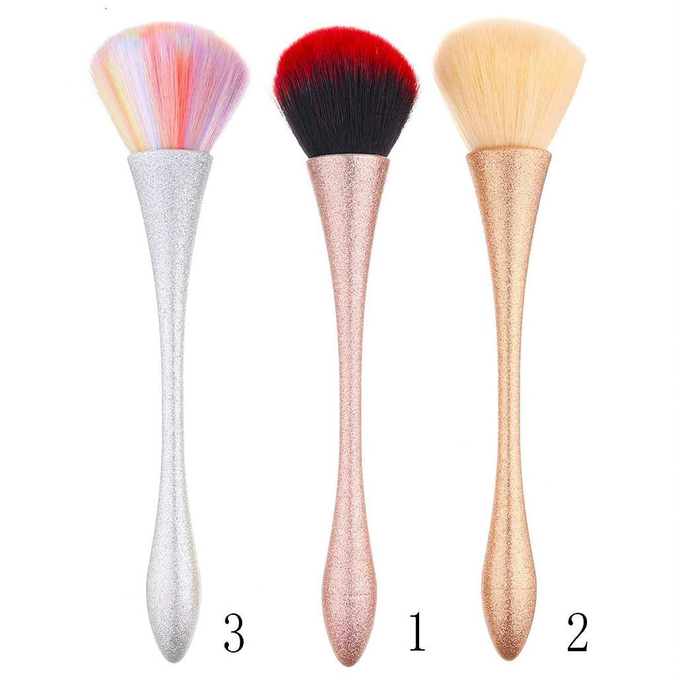 自動的にピカリング懐疑論SM SunniMix メイクブラシセット 化粧ブラシ 3本セット 化粧筆 アイシャドウブラシ フェイスブラシ