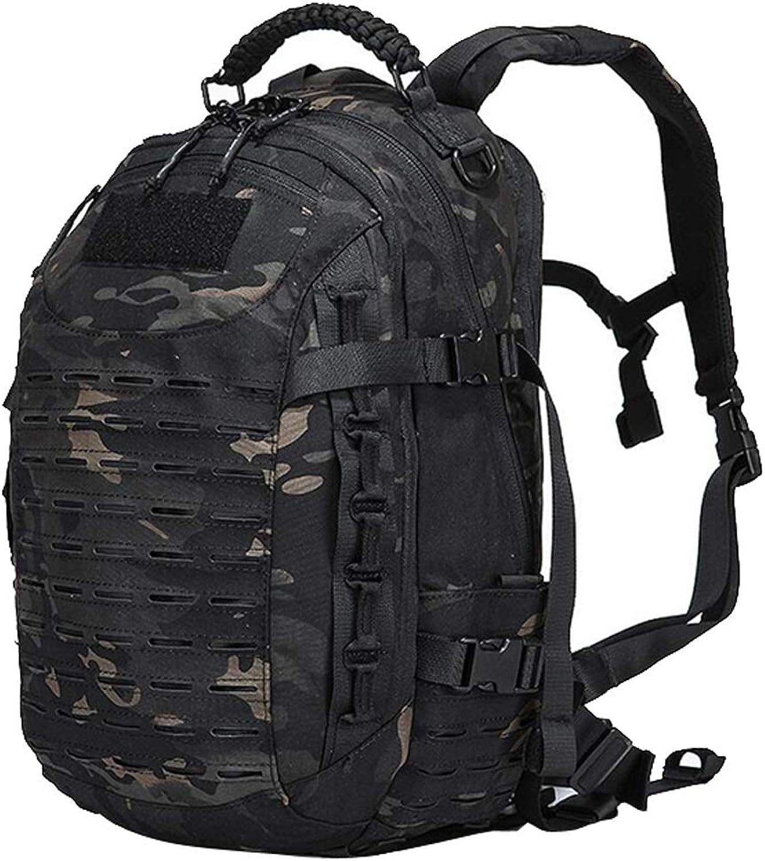 25L taktischer Rucksack, Camouflage Rucksack Wandern Reisen Reiten Bergsteigenbeutel Multifunktions Rucksack Outdoor Wandern Camping Angeln Jagd Modetasche JYT