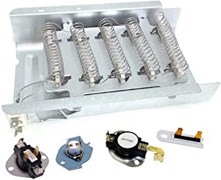 OxoxO 3977767 3387134 3399848 Dryer Thermostat and 3392519 3977393 Thermal Fuse for Whirlpool /& Kenmore Dryer Replaces 3399693 WP3977767VP PS345113 AP6008325 WP3977393