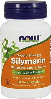 Now Foods - Silymarin 2X 300 Mg. 50 Vegetarian Capsules