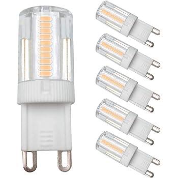 2 Packs of 2 G9 Halogen Office Capsule Light Lamp 190lm 230v 18w Warm White