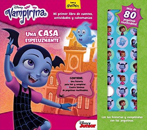 Vampirina. Una casa espeluznante: Mi primer libro de cuentos, actividades y pegatinas (Disney. Vampirina)