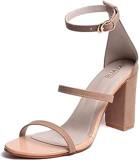 Klaur Melbourne Women's 3.5 Inchs Block Heel Sandal