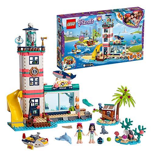Lego Friends41380 Leuchtturm mit Flutlicht,Bauset