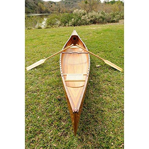 Wooden Canoe, 18-Feet, Real Canoe