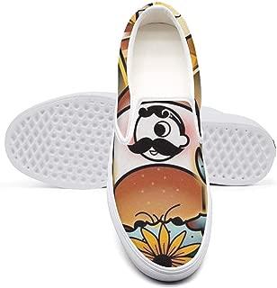 Women's I Love MarylandWalking Canvas Shoes Slipon Loafers Sneaker