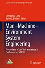 Man–Machine–Environment System Engineering  : Proceedings of the 19th International Conference on MMESE (Lecture Notes in Electrical Engineering Book 576)