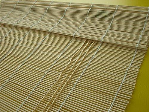 WR-Design Bambusrollo Seitenzug Fenster Rollos Raffrollo Holzrollo Natur Sichtschutz Länge 160 cm Breite 60-160 cm (140 x 160 cm)