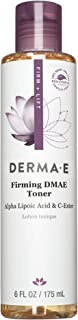 DERMA-E Firming Dmae Facial Toner With Alpha Lipoic Acid, White 6 Fl Oz
