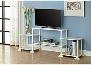 Mainstay Multiple Shelves No Tools 3-Cube Storage Entertainment Center for TVs up to 40