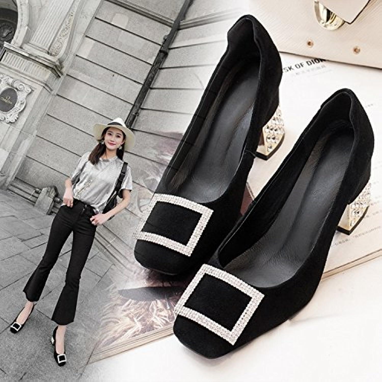 Jqdyl High Heels Damen Einzel Einzel Schuhe Heel High Heel Strass Damenschuhe  gute Qualität