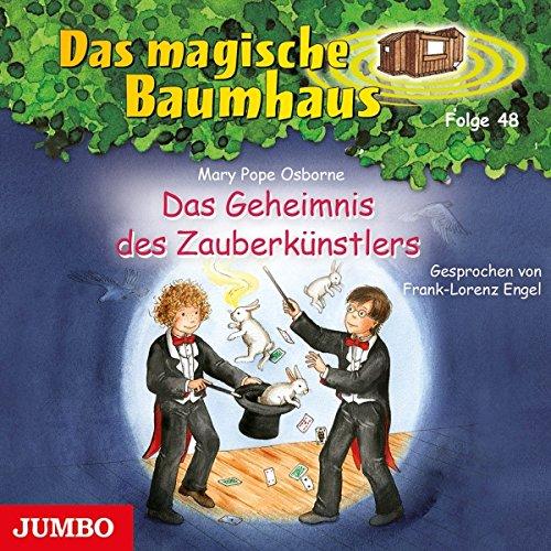 Das Geheimnis des Zauberkünstlers (Das magische Baumhaus 48) Titelbild