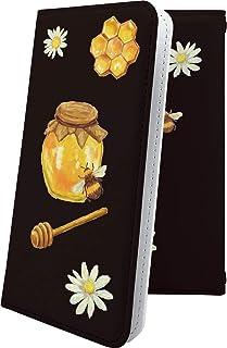 LG G2 mini LG-D620J ケース 手帳型 動物 動物柄 アニマル どうぶつ 蜂 ハチ クマ はちみつ 瓶 エルジー ミニ ビッグローブ ビグローブ ジー2 ハート love kiss キス 唇 G2mini キャラクター キャラ ...