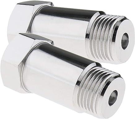 O2-Sauerstoffsensor-Testrohrverlängerung V2x M18x1.5 Lambda O2 Sauerstoffsensor Extender Bung Verlängerungsadapter 45mm