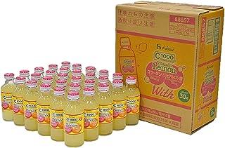 [Amazon限定ブランド] ハウスウェルネスフーズ C1000 ビタミンレモン コラーゲン&ヒアルロン酸 With 140ml×30本